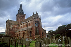 St. Magnus Cathedral, Kirkwall, Orkney © Patrick Dieudonné Photo, www.patrickdieudonne.com, all rights reserved